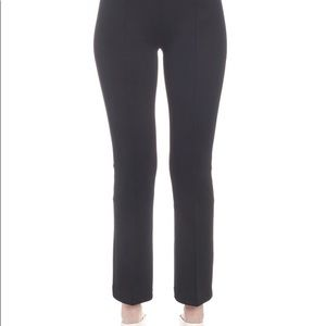 Helmut Lang cropped flare stretch trousers
